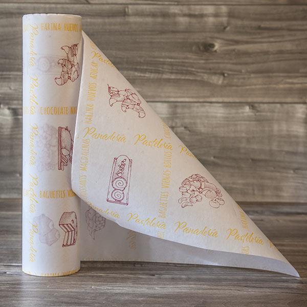Bobina de papel celulosa